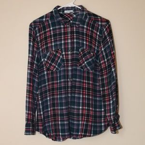 Maurices Flannel Button Down Shirt